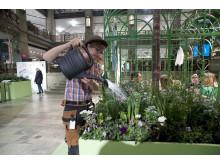Våren startar i full blom på Nordiska Kompaniet.