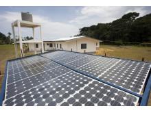 UNDP bygger solpanel i Liberia