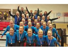 Örebro GF KIF silver NM 2015 och Höganäs GF brons NM 2015