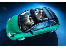 Opel ADAM med Swing Top