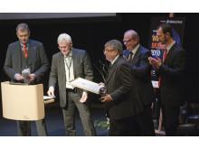 Laércio Couto får utmärkelsen the World Bioenergy Award 2010.