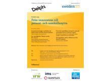 Program till SwedenBIOs årsmöte 2013 - Från innovation till patient- och samhällsnytta