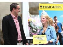 Tua Sandholm får stipendium
