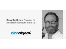 Doug Bevill, new President for BIMobject operations in the US