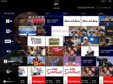 """""""Get tv"""", tv-guide nytt brukergrensesnitt"""