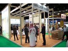 Svenskt Trä på Dubai Wood Show_Bild 3