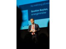 Ibrahim Baylan vid förra årets Power Circle Summit.