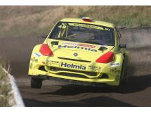 Lukas Walfridson och Helmia Motorsport till Rallyx