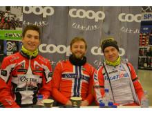 Coop sponser unge, talentfulle syklister på Team Coop-ØsterHus 1