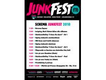 Schema för Junkfest 2010