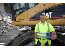 Maskinstyrning från Scanlaser till grävmaskiner