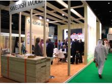 Svenskt Trä på Dubai Wood Show 2014_Bild 2
