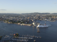 Stena Saga, utseiling fra Oslo 1
