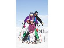 SkiStar - skidbild familj