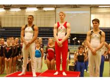 Årets SM i manlig artistisk gymnastik vanns av Pontus Kallanvaara från Göteborg Turn