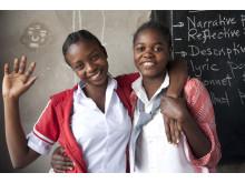 Elever vid Secondary School, Bagamoyo, Tanzania