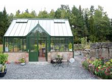 Attefallshus i glas från Vansta Trädgård