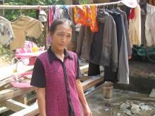 Tran Thi Le förlorade allt i översvämningen