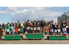 EM för unga ryttare - lagmedaljörerna