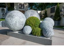 Handgjorda klot för trädgården