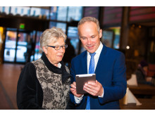 Berit Holm Olsen og Jan Tore Sanner