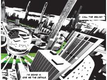 Arkitekturstriper. Ghilardi + Hellsten Arkitekter i samarbeid med Vilhelm Christensen, Daniel Ferdman, Mirko Stopar og Tim Prins, utsnitt.