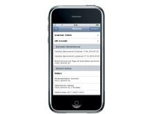 Kontrollera och styr hemmet med hjälp av iPhone