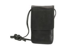 Gear by Carl Douglas halsremtaske for smartphone sort ægte læder