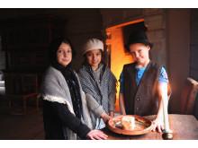 Skapande skola-projektet Järnet i berget i samarbete med Skansen