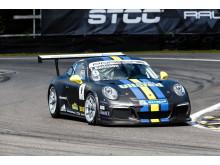 Ola Nilsson/Thomas Karlsson. Swedish GT 2015. Falkenberg 1