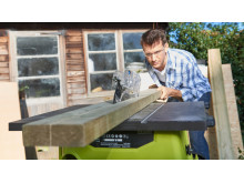 Nopeaa, tarkkaa sahaamista uusilla Ryobi® pöytäsahoilla