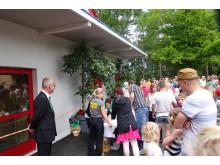 Invigning nya ökenhuset Parken Zoo Eskilstuna