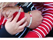 Childhood-armbandet i Polarn O. Pyrets butiker