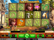 Jack and the Beanstalk video slot på Vera&John online casino