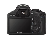 EOS 550D Back
