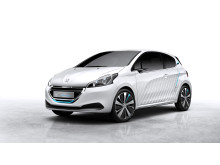 Peugeot går skridtet videre: 208 HYbrid Air 2L