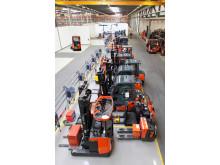 Ljusa lokaler i Toyota Material Handling Deutschlands nya anläggning och huvudkontor