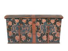 Kista, Halland. Målad 1834. Målare okänd. Foto: Peter Segemark, Nordiska museet
