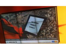 Swecon butiks-TV - digital signage med RSS-flöde från Mynewsdesk