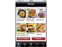 MatHem.se lanserar app med bl.a. scannerfunktion och färdiga recept