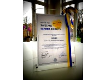 SWECARE Export Award 2102