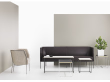 Cajal easy chair, sofa and table