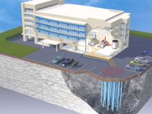 Geoenergilager för kontor och komersiella fastigheter