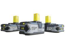 Ryobi 18V batterier