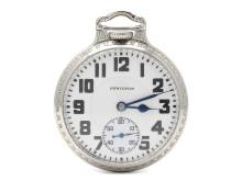 Klockor 10/1, Nr: 164, HAMILTON, fickur, 50,5 mm, Cal 992 (21 stenar, 16 size)