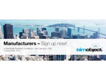 Anmäl dig till BIMobject® LIVe – San Francisco