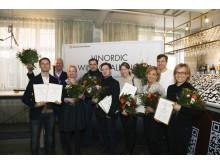 Winners Vinordic Wine Challenge