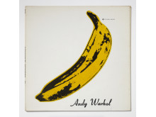 Plateomslag. Vinylens comeback.The Velvet Undergroound and Nico. 1967 av The Velvet Underground. Design: Andy Warhol