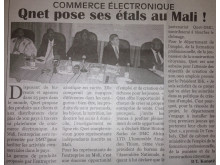 QNET in Mali's Le Challenger Newspaper