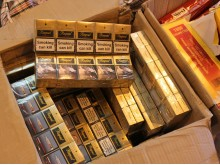 Op Magic NW24/15 Cigarettes seized by HMRC in Rochdale 1